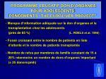 programme educatif don d organes pour adolescents fondements the euroliver project
