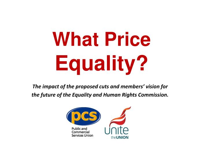 what price equality