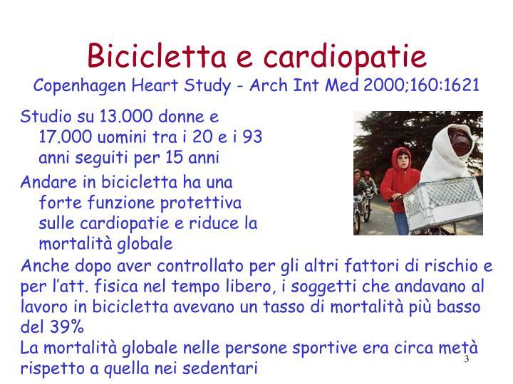 Bicicletta e cardiopatie