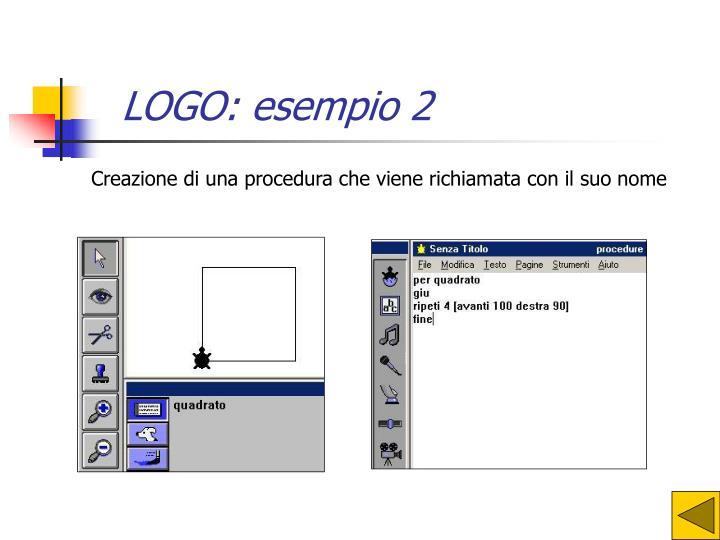 LOGO: esempio 2
