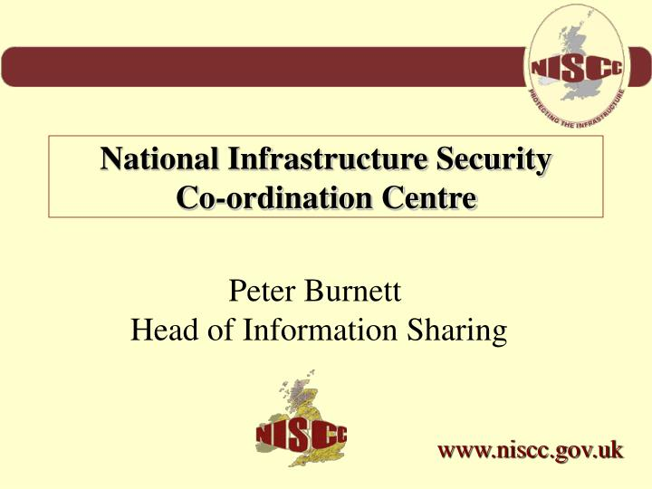 National Infrastructure Security