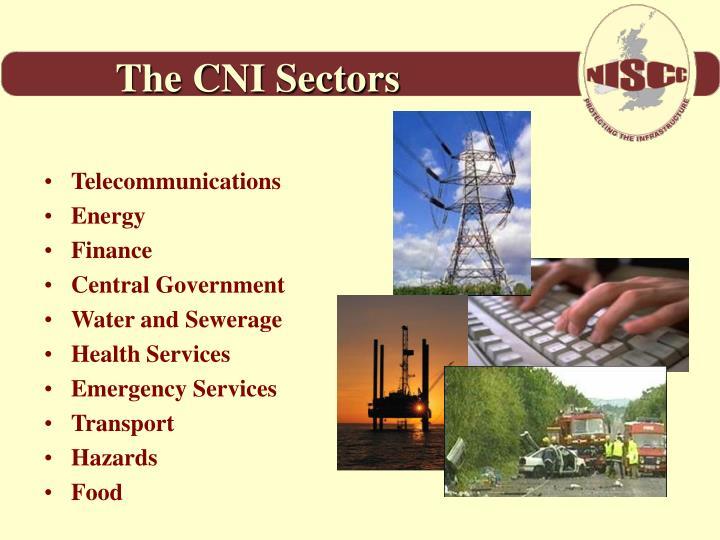 The CNI Sectors