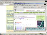 accessing journals by subject 5