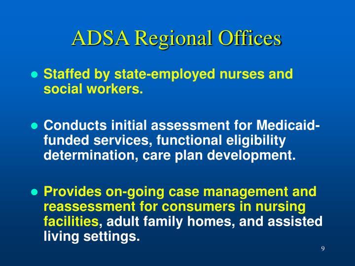 ADSA Regional Offices