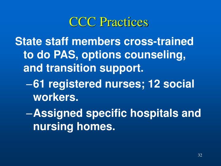CCC Practices