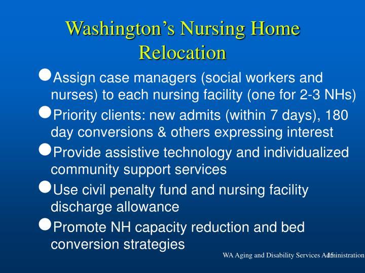 Washington's Nursing Home Relocation