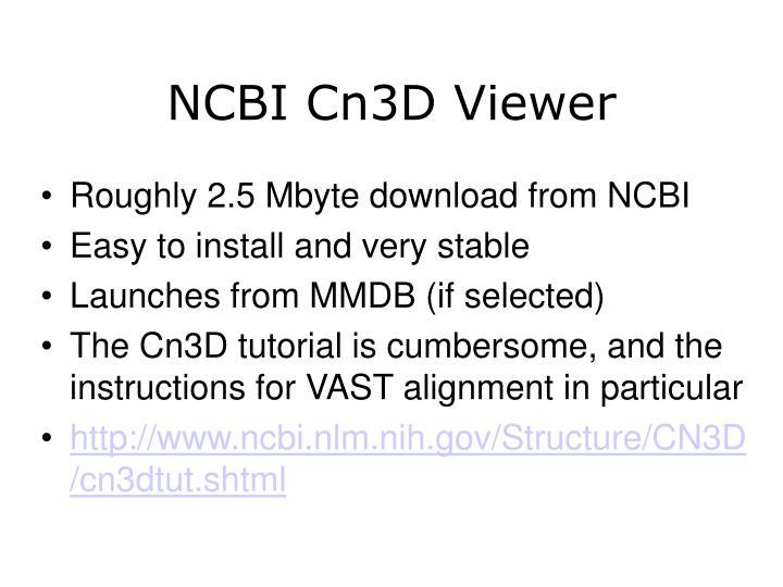 NCBI Cn3D Viewer
