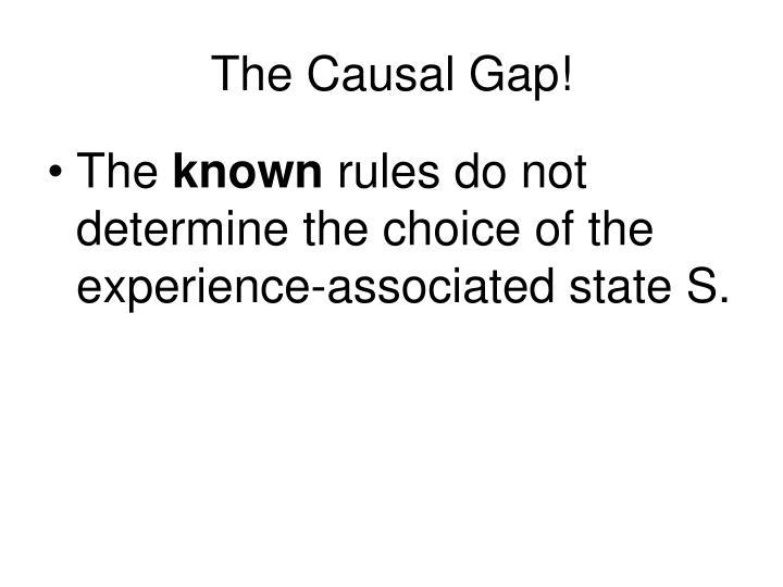 The Causal Gap!
