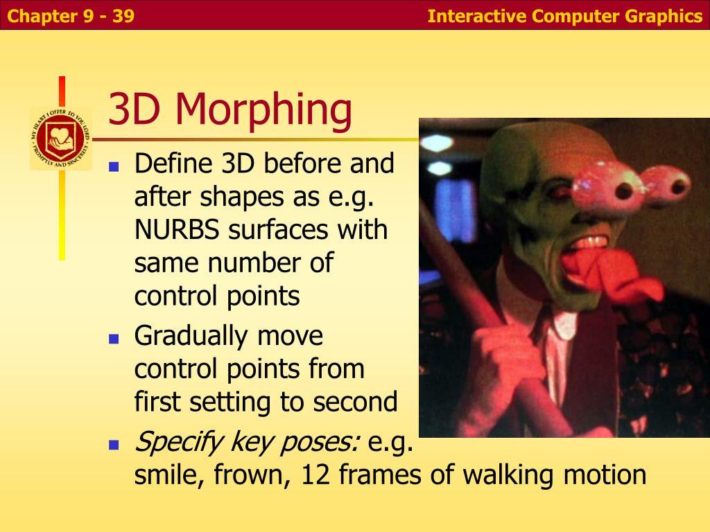 3D Morphing
