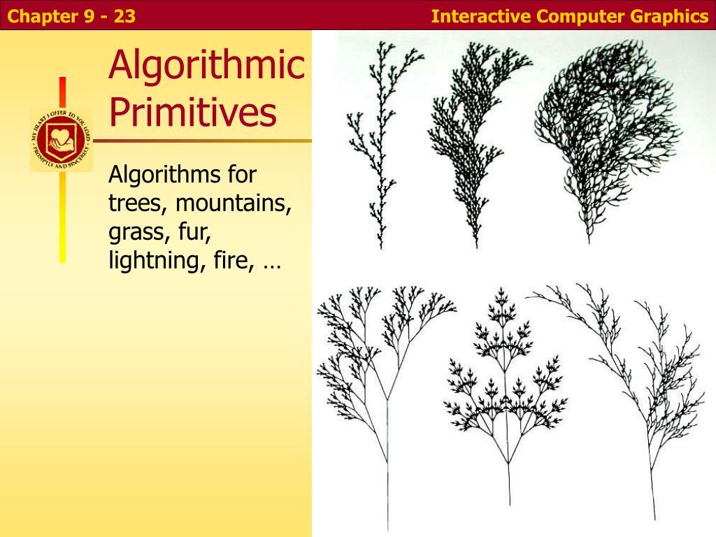 Algorithmic Primitives