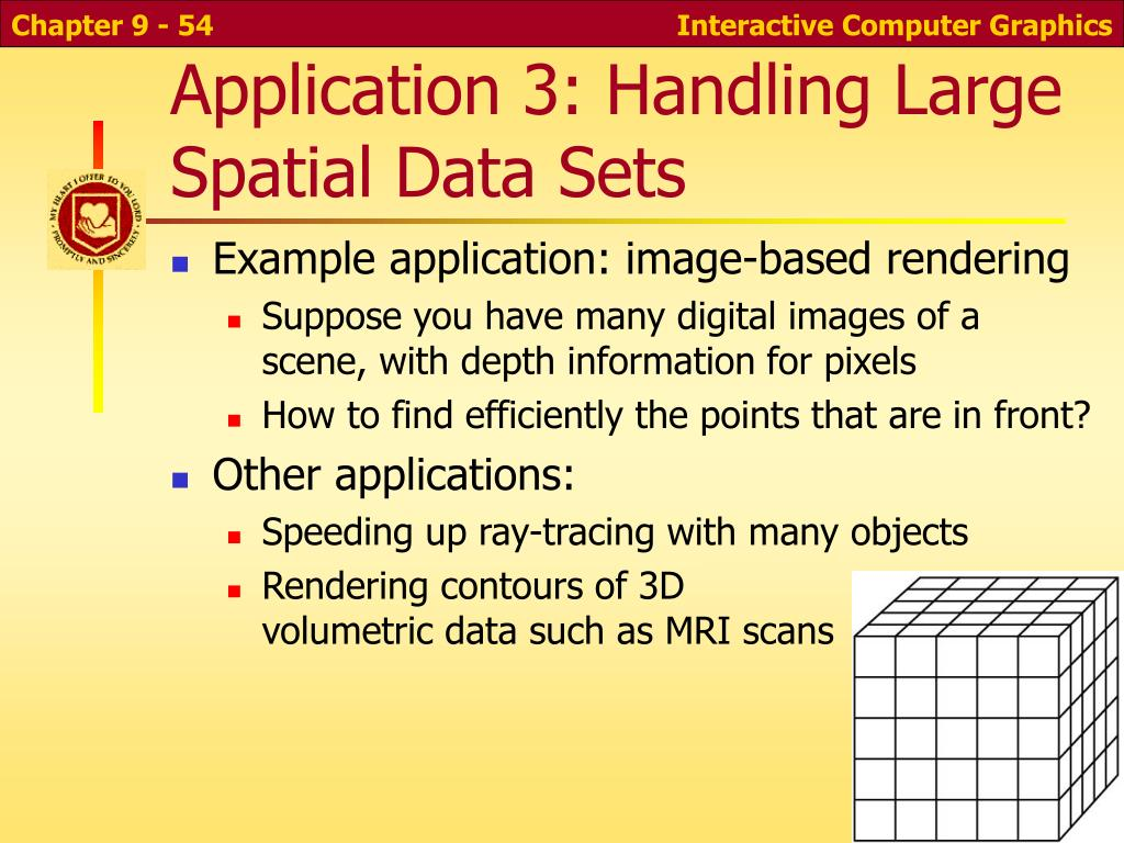 Application 3: Handling Large Spatial Data Sets