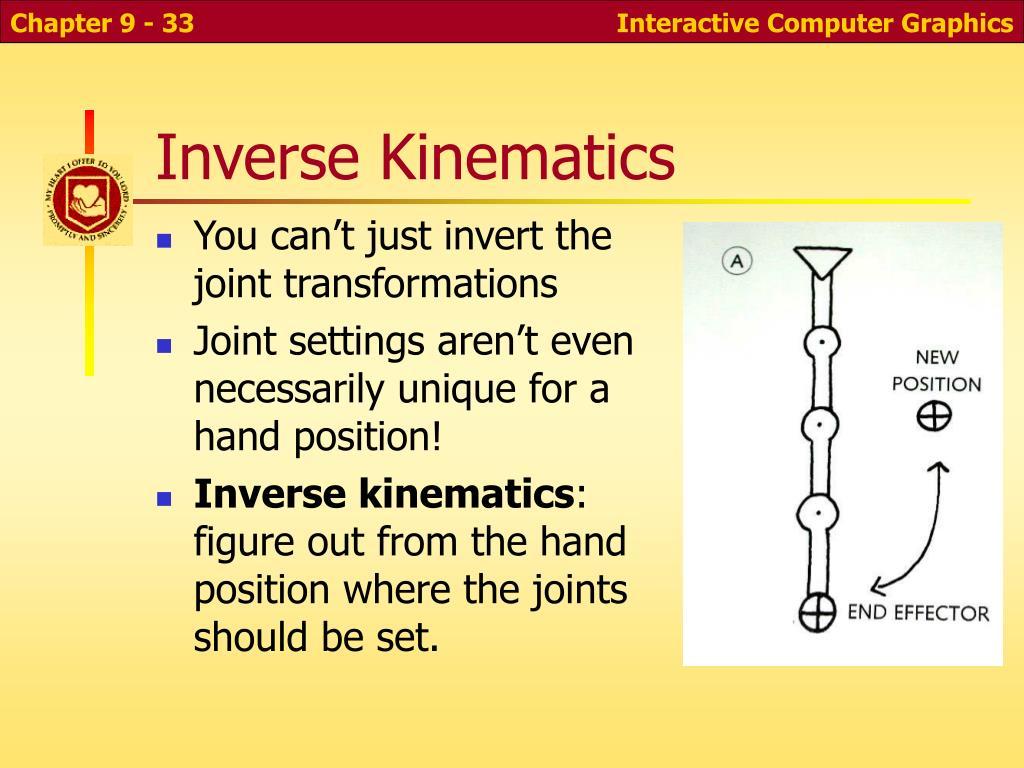 Inverse Kinematics