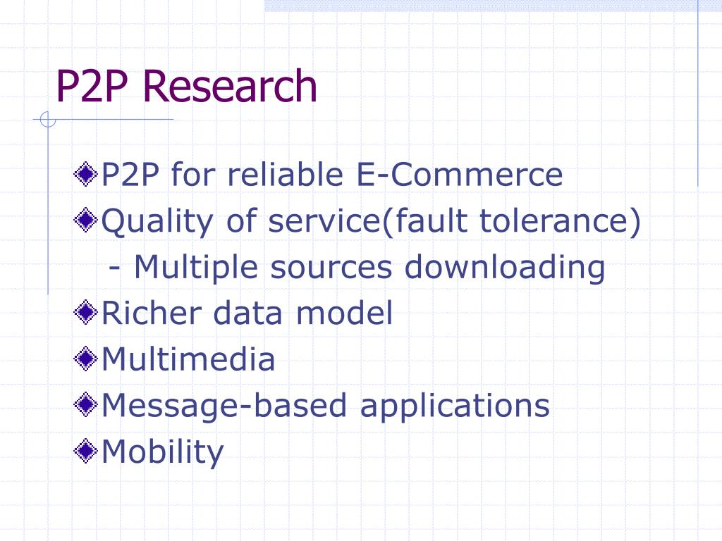 P2P Research