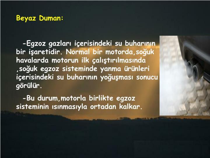 Beyaz Duman: