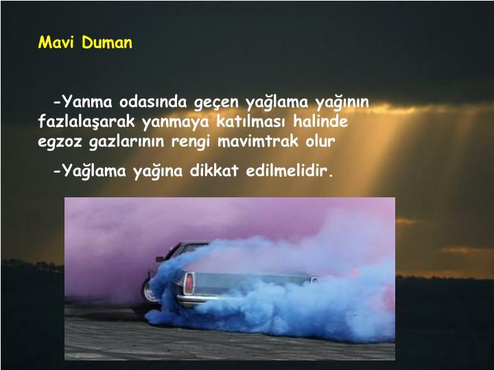 Mavi Duman