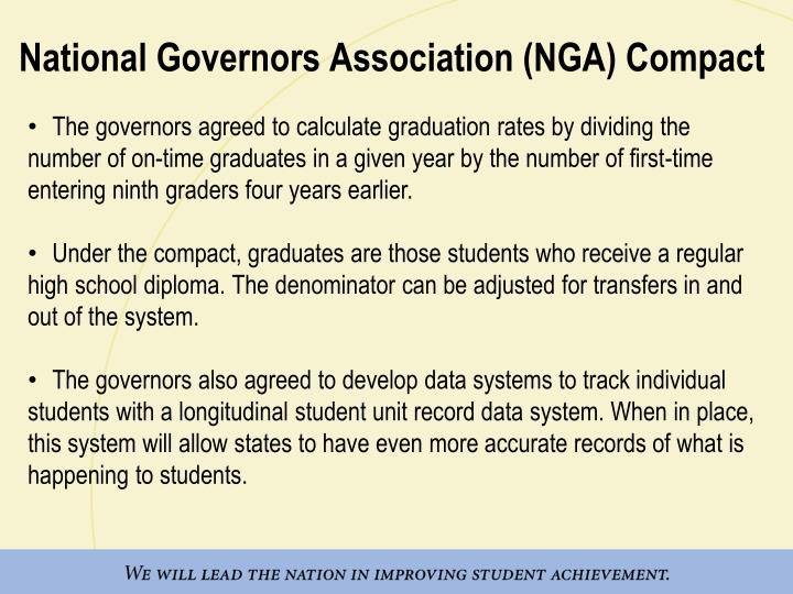 National Governors Association (NGA) Compact