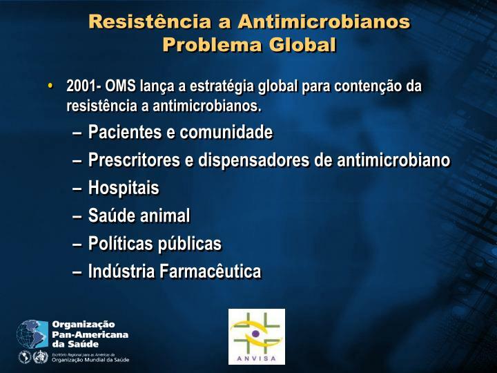 Resistência a Antimicrobianos