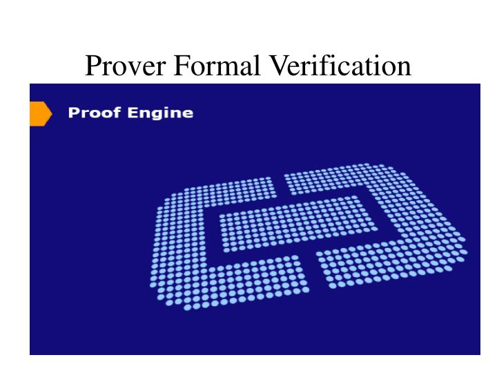 Prover Formal Verification