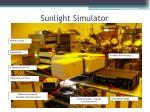sunlight simulator