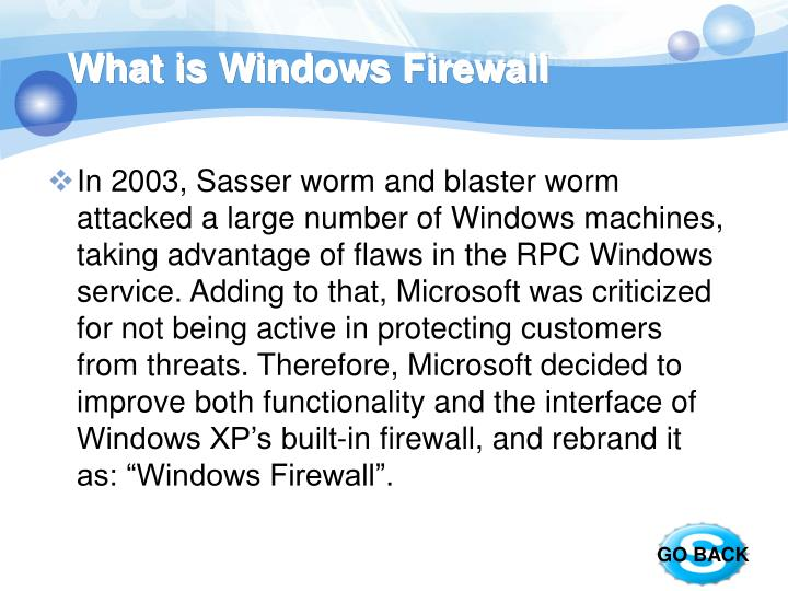 What is Windows Firewall