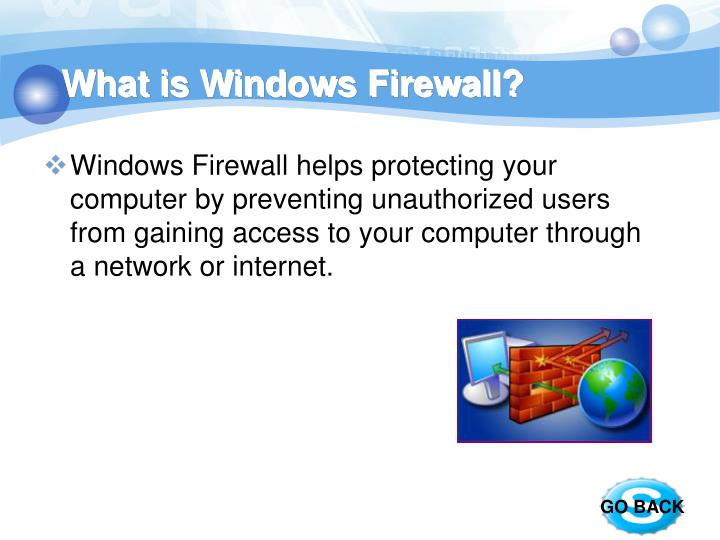 What is Windows Firewall?