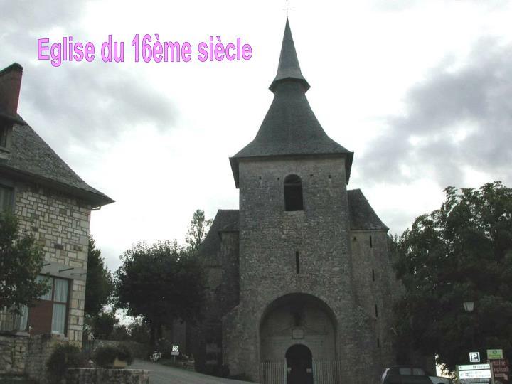 Eglise du 16ème siècle