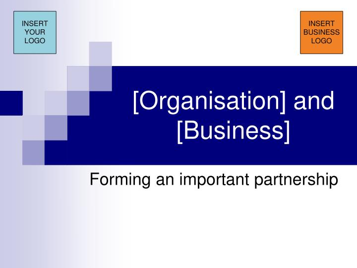 Organisation and business