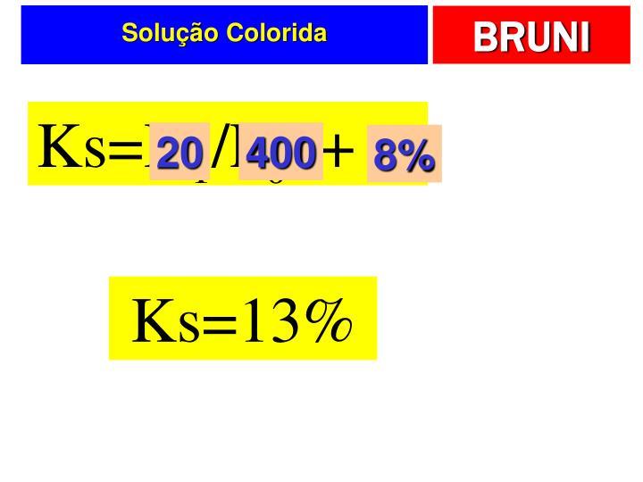 Solução Colorida