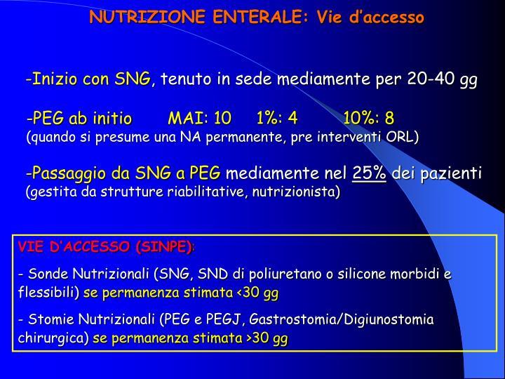 -Inizio con SNG