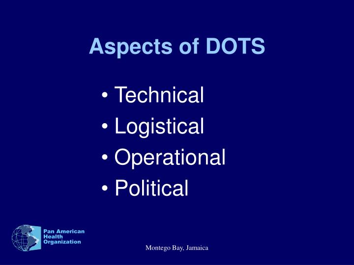 Aspects of DOTS