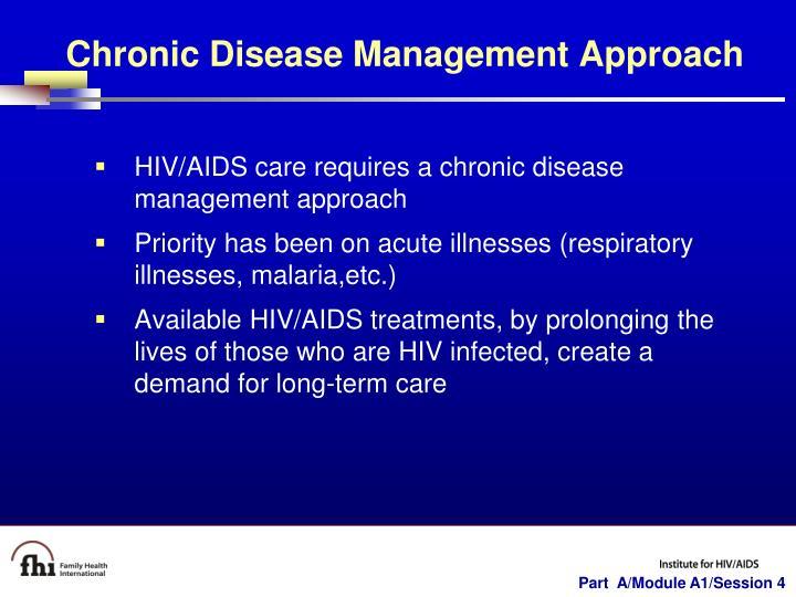 Chronic Disease Management Approach
