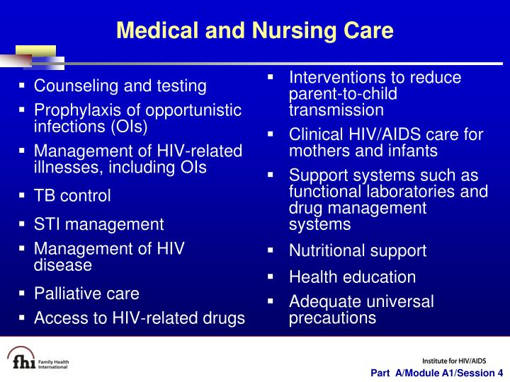 Counseling and testing