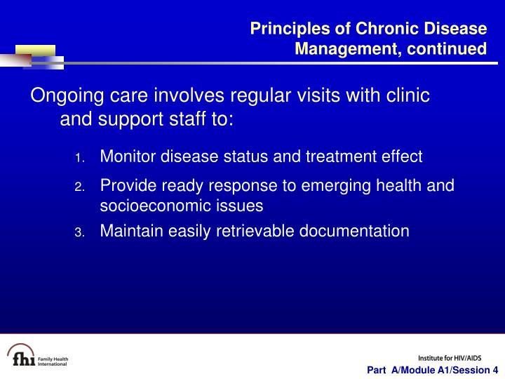 Principles of Chronic Disease