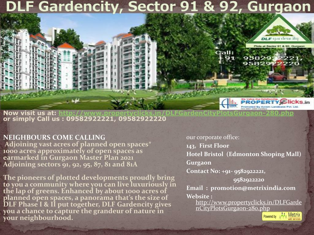 DLF Gardencity, Sector 91 & 92, Gurgaon