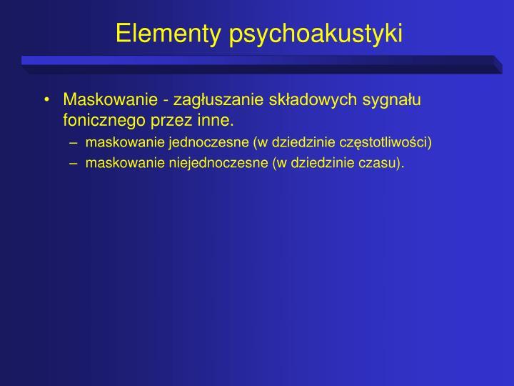 Elementy psychoakustyki