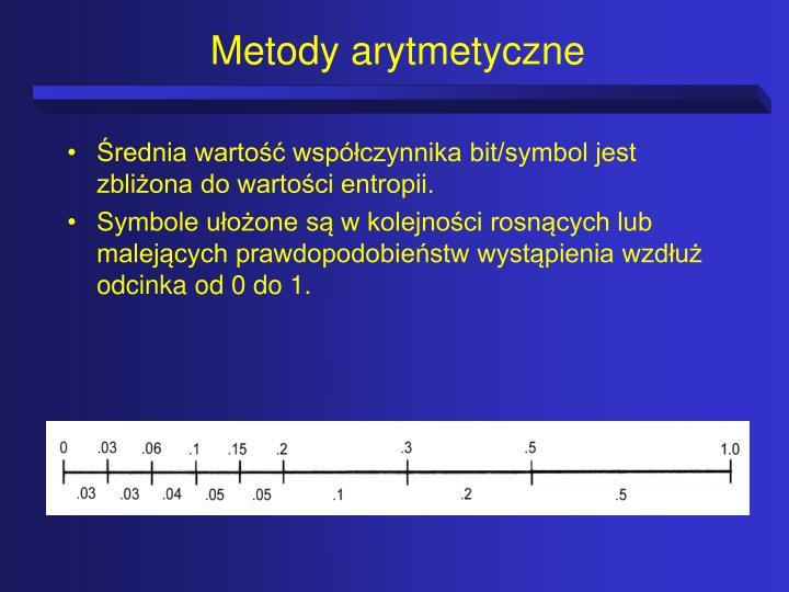 Metody arytmetyczne