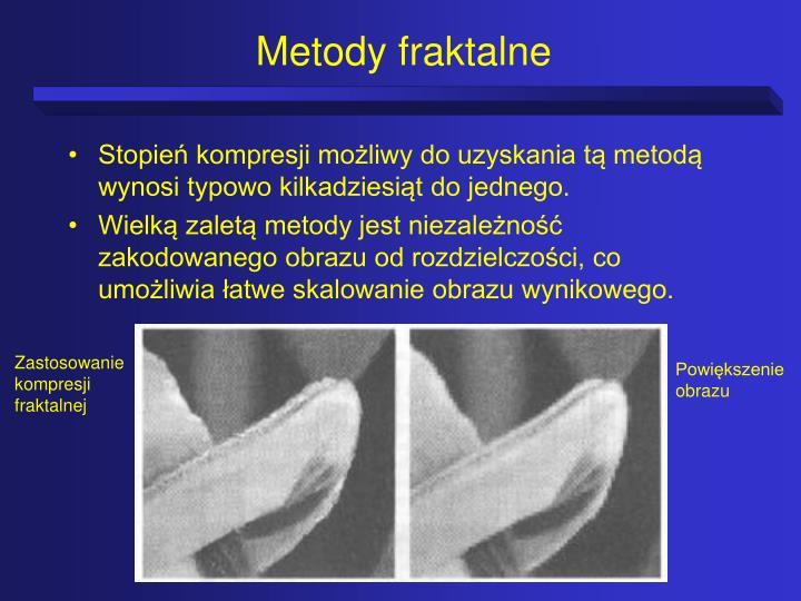 Metody fraktalne