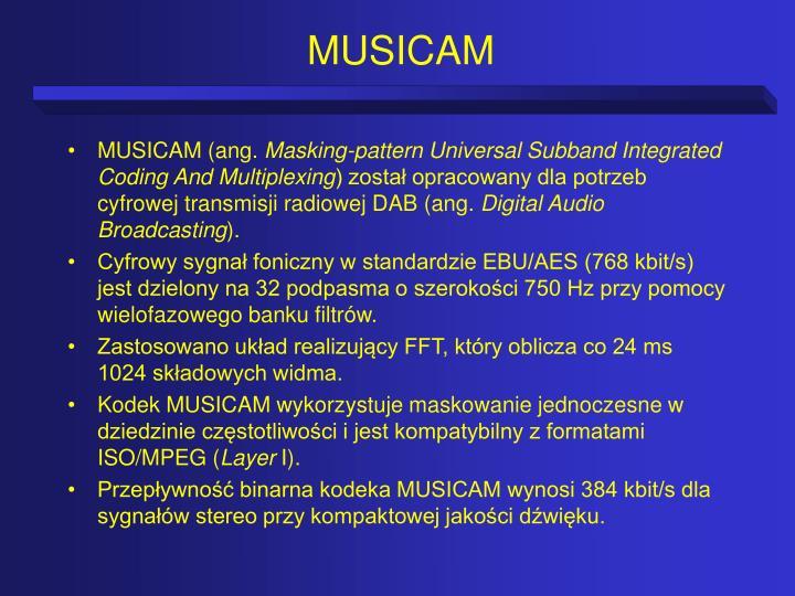 MUSICAM