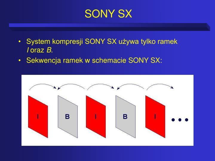 SONY SX