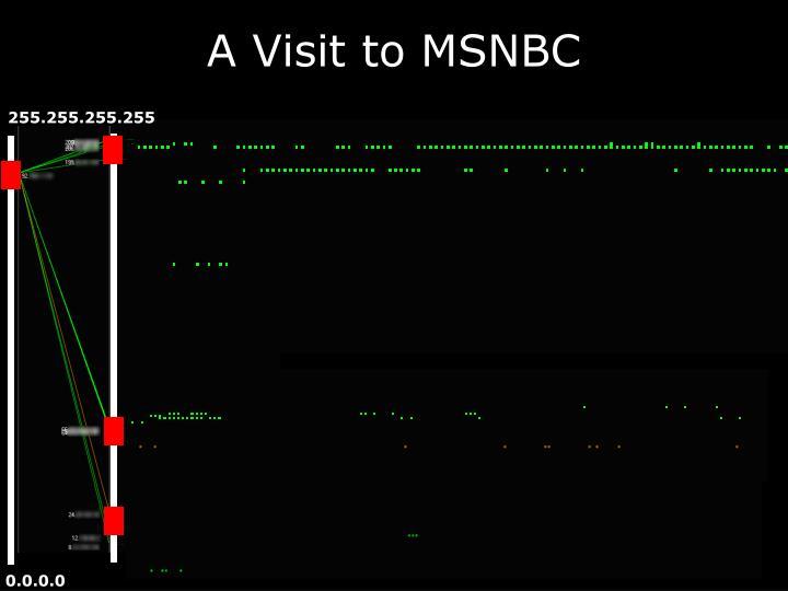 A Visit to MSNBC