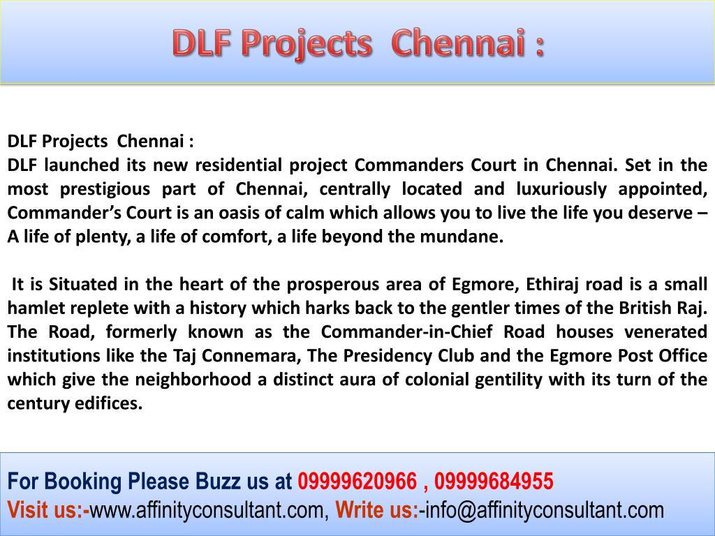 DLF Projects  Chennai