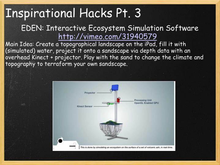 Inspirational Hacks Pt. 3