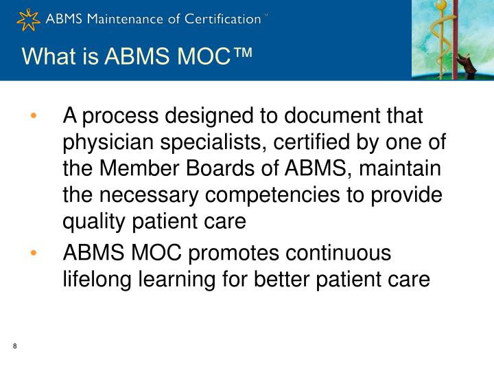 What is ABMS MOC™