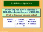 liabilities question1