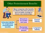 other postretirement benefits