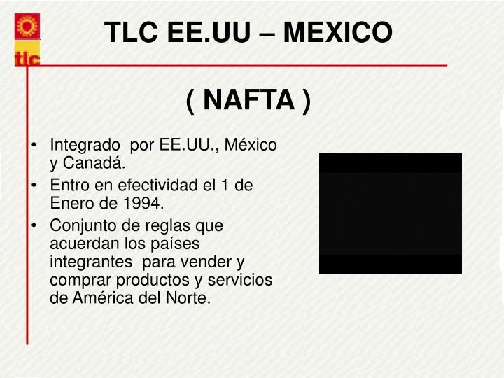 TLC EE.UU  MEXICO