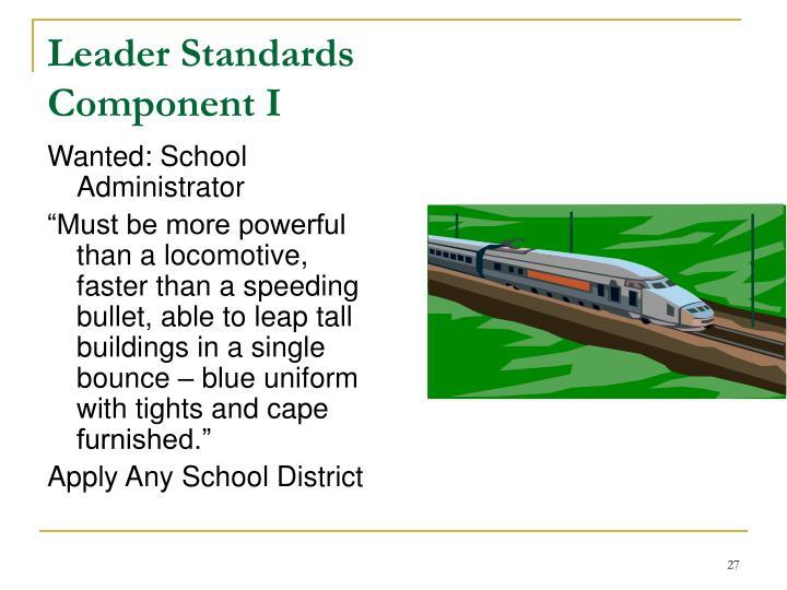 Leader Standards
