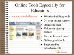 online tools especially for educators1