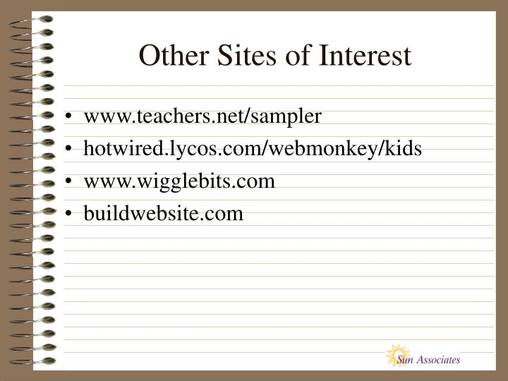Other Sites of Interest