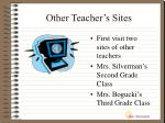 other teacher s sites